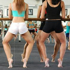 """Barre (or kitchen counter) Workouts - Pinner says """"fastest, most amazing, noticeable changes to my body!!"""""""