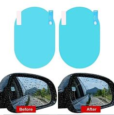 Be safe in your car this winter! Ensure you always have a clear view of what's around you with this easy to install anti-fog car mirror film! car mirror price, outside rear view mirror, fender mirror, history of side view mirror, car mirror convex, car mirror replacement cost, car side mirror repair, car mirror cover, #carmirror #outsiderear #mirrorrepair