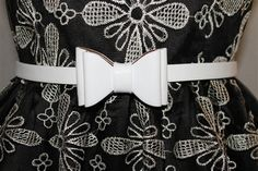 Tatyana Bow Belt--perfect with Jeans or dresses! @voovoodress.com $20.00