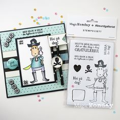 AnMa - Blog - Stamps from MagicMonday, card created by Anne.  Stempel / Stamps: http://www.anma.no