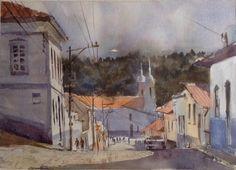 São Luis do Paraitinga - São Paulo- Brasil #watercolor #aquarela #art #painting #pintura