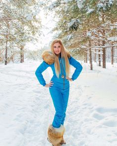 Ski Fashion, Winter Fashion, Fuzzy Boots, Down Suit, Outfit Invierno, Winter Suit, Puffy Jacket, Down Parka, Skiing