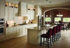 kitchens with islands - Google Search