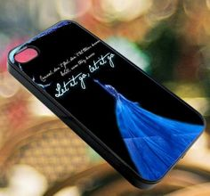 elsa frozen quote   iPhone 4/4s/5/5s/5c Case  by diemondHard, $15.00