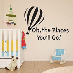 Dr Seuss The Places You'll Go Children's Girls Boys Wall Sticker Decal Children room sticker http://www.amazon.com/dp/B00V818AO8/ref=cm_sw_r_pi_dp_VwQAwb09FXGKE