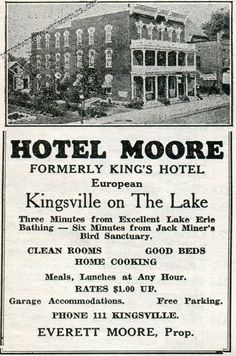 Hotel King, Windsor Ontario, Essex County, Artwork Ideas, Lake Erie, Cool Beds, Black And White Photography, Detroit, Black White Photography