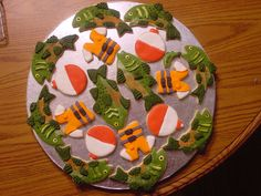 Fish cookies-I made these for a friend