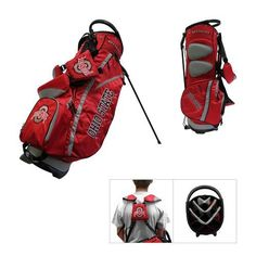 Team Golf Ohio State University Fairway 14-Way Golf Stand Bag - Golf Equipment, Collegiate Golf Products at Academy Sports