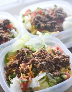 Low Sodium Taco Salad WW 5 smartpoints