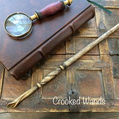 Hand Carved Cherry Wand // Lily Wand// Hand Carved Wand //