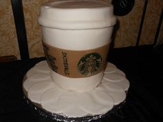 If you love coffee, how about a Starbucks #wedding #cake? Look at this creation from the pastry team at JW Marriott Starr Pass Resort & Spa!