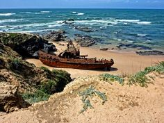 Most Famous Shipwrecks Of The World - Abandoned Ships, Abandoned Places, Portugal, Ship Breaking, Thing 1, Tug Boats, See Images, Shipwreck, Submarines