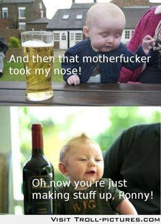 Drunk babies
