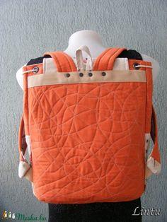 Textil hátizsák, vitorlás hajók (Lintu) - Meska.hu Textiles, Diaper Bag, Bags, Handbags, Diaper Bags, Mothers Bag, Fabrics, Bag, Totes