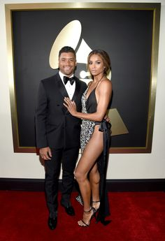2016 Grammys: Russell Wilson and Ciara