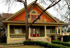 you could also see the lake if we did something like this 1905 Arts & Crafts Bungalow