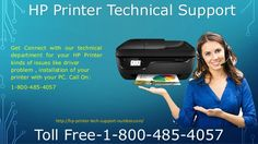 Call now for HP Printer technical problem dial toll free number to get instant solution 24/7 without any hazard. Call On: 1-800-485-4057 For more information visit us:hp-printer-tech-support-number.com #HP #Printer #tech #Support #Number