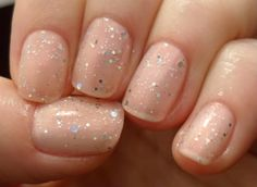 Love Sparkles!     DIY: At Home Manicure ♥ | LUUUX