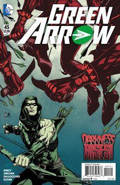 Weird Science DC Comics: Green Arrow #45 Preview