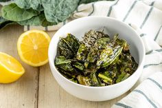 Kale Chips Recipe by @draxe