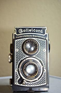 Rare Vintage Art Deco Rolleicord Camera