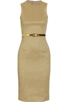 You always do it, Michael Kors. Belted Jacquard Dress by Michael Kors - £927.07