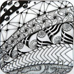 Lily's Tangles: 42. Weekly tiles.