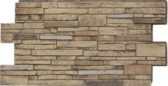 Urestone LITE Virginia Stacked Stone - 2x4 | Stacked Stone Veneer Panels