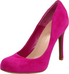 I have these in two patent leather colors (burgundy and nude). YAY pink!