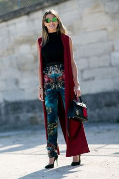 Heels unsettling the white dust of the Tuileries pathways, maxi-dresses sweeping the ground; perfect hair thankful for quiet winds and bared arms thankful for a little sun. Day 5 of Paris fashion w...