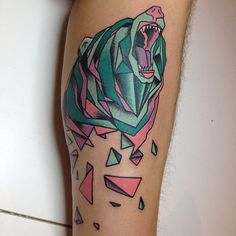 15 beautiful elephant tattoo designs Source by Geometric Bear Tattoo, Elephant Tattoo Design, Geometric Animal, Great Tattoos, Beautiful Tattoos, New Tattoos, Tatoos, Grizzly Bear Tattoos, Bear Tattoo Meaning