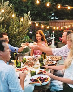 Setting the Perfect Summer Table Tips: Lighting