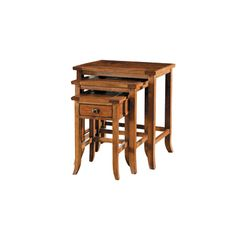Harden 1666 Cabinetmakers Cherry Grand Forks Nesting Tables available at Hickory Park Furniture Galleries