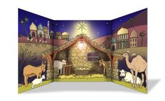 nativity play scenery - Google Search