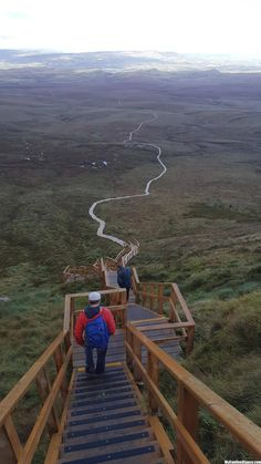 Stairway to heaven. Culcaigh Mountain, Fermanagh, N. Oh The Places You'll Go, Places To Travel, Places To Visit, Travel Stuff, Belfast, Dublin, Just Dream, Stairway To Heaven, Ireland Travel