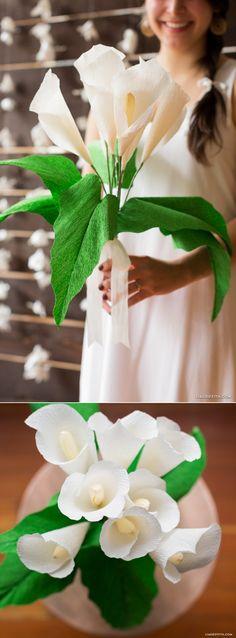 #crepepaperrevival #crepepaper #paperflower #crepepaperflower www.LiaGriffith.com: