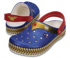 Another great find on Wonder Woman Blue Crocband™ Clog - Unisex Wonder Woman Shoes, Wonder Woman Logo, Superman Wonder Woman, Dc Superhero Girls Dolls, Wonder Woman Pictures, Wonder Woman Birthday, Wander Woman, Converse, Women's Crocs