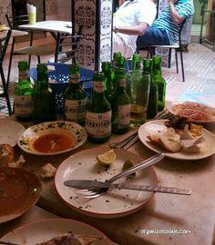 Jamas pensamos que en #Marruecos fuesemos a tomar unas cervecitas, un buen vino o salir de fiesta por #Marrrakech. Un #viaje para romper con ideas preconcebidas.