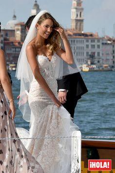 La romántica boda veneciana de Álvaro Morata y Alice Campello