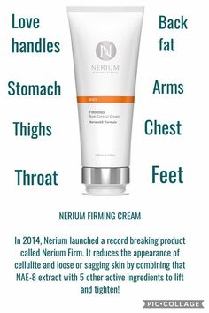 Anti-Wrinkle Face Creams and Formulations Nerium International, Body Firming Cream, Best Skincare Products, Skin Products, Beauty Products, Face Cream For Wrinkles, Wrinkled Skin, Sagging Skin, Wrinkle Remover