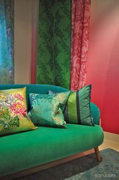 Designers Guild Gordijnen, Kussens en Sofa | Fotografie STIJLIDEE Interieuradvies en Styling via www.stijlidee.nl