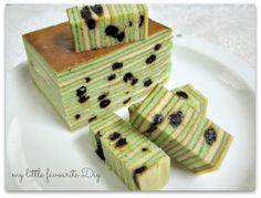 my little favourite DIY: Prune Layer Cake ,, 黑枣千层糕