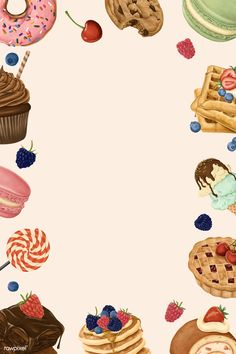 Food Background Wallpapers, Cake Background, Food Backgrounds, Cute Wallpapers, Baking Wallpaper, Food Wallpaper, Food Poster Design, Menu Design, Design Posters
