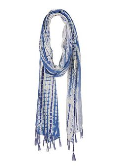 Tie dye scarf with sequins (original price, $18) available at #Maurices