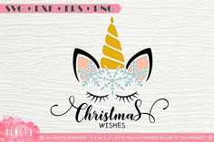 Last Trending Get all images christmas unicorn svg Viral c c c e ba resize Christmas Snowflakes, Christmas Svg, Christmas Projects, Unicorn Christmas, Cricut Tutorials, Cutting Files, Design Bundles, Free Design, Design Elements