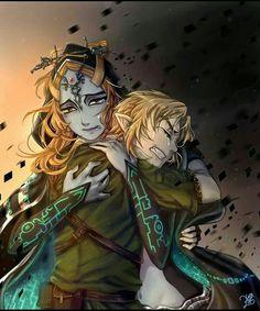 Link & Midna