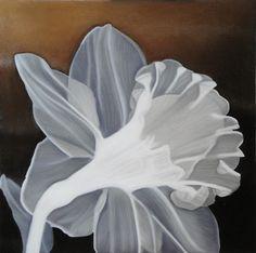 'Flower' - Oil on Canvas