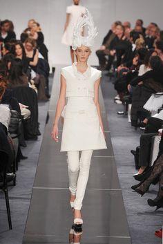 Chanel Spring 2009 Couture Fashion Show - Freja Beha Erichsen