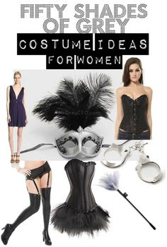 Fifty Shades of Grey Inspired Halloween Costume Ideas for Women