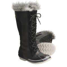 Sorel Cate the Great Pac Boots - Waterproof, Insulated (For Women) in Black/Tusk